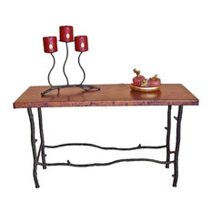 """South Fork Extra Long Console Table With 60""""x14"""" Top"""