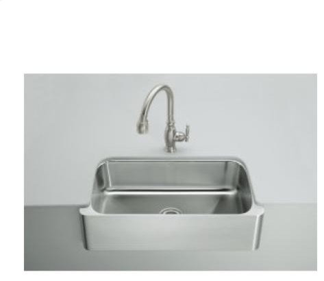kohler verity apron front under mount sink kitchen sinks - Kitchen Sink Appliances