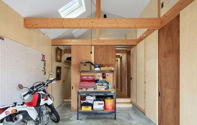 まるで工具箱のような、職住一体の住まい