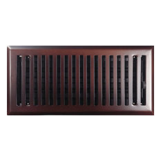 Whole Registers Oil Rubbed Bronze Contemporary Steel Floor Register 4 X10