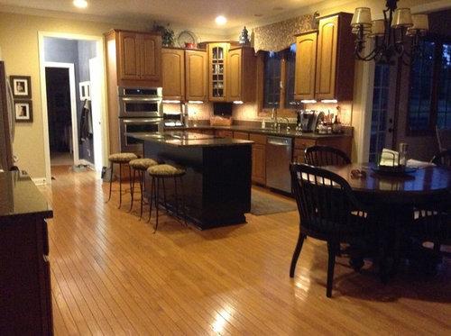 Getting Rid Of Orangey Oak Floors