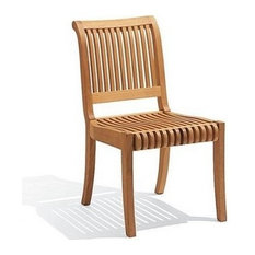 Charmant Teak Deals   Giva Armless Chair   Outdoor Teak   Outdoor Dining Chairs