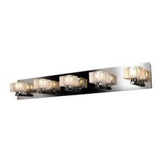 Access Lighting   Sophie 5 Light Bathroom Vanity Lights In Chrome   Bathroom  Vanity Lighting