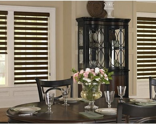 Sheer Shades  Dining Room Inspiration   Window Treatments Part 96