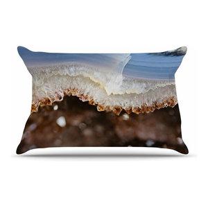 Kess InHouse Sylvia Coomes Pinecone Green Brown Pillow Sham 30 x 20