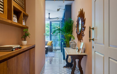 Mumbai Houzz: A Contemporary 3-BHK With a Tropical Vibe