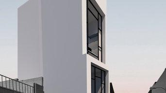 Vivienda Slim House en Badajoz