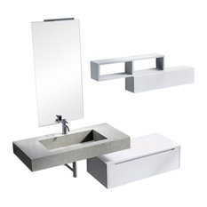 Belsk Bathroom Vanity, 6-Piece Set