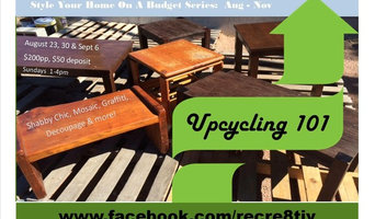 Upcycling 101 Workshop Series