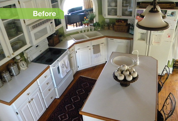 24 Dramatic Kitchen Makeovers