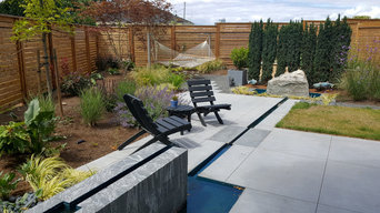Forbes Backyard and Water Feature