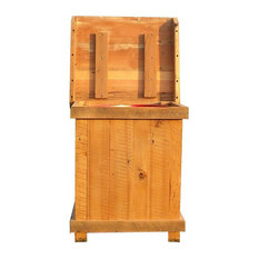 50 Most Popular Rustic Trash Cans For 2018 Houzz