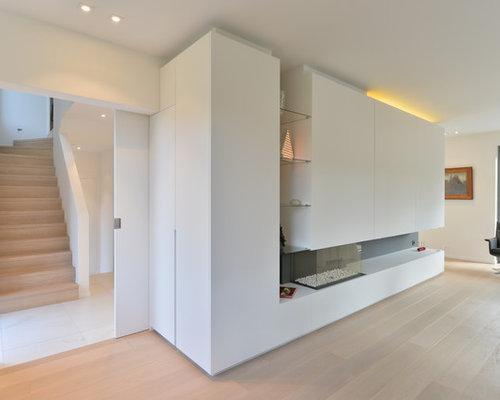 inrichting woonkamer en bureau brasschaat  ontwerp van qtd, Meubels Ideeën