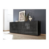 Miro (grey) 4 door sideboard