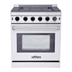 """Thor Kitchen - Thor Kitchen 30"""" Stainless Steel Gas Range Oven With 5 Burner LRG3001U - Gas Ranges and Electric Ranges"""