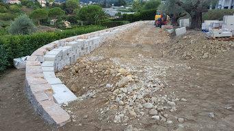 murs de soutènement Modul'Pierre