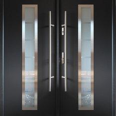 Modern Front Double Doors contemporary front doors | houzz