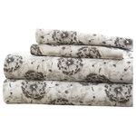 Ienjoy Home - Becky Cameron Make a Wish Pattern 4-Piece Bed Sheet Set, California King - Parent