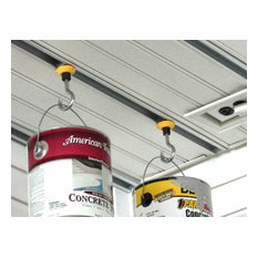 Garage Ceiling Storage - Ring Hanger Hook with PowerTrack - the complete solutio