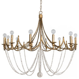 Transitional Chandeliers by GABBY