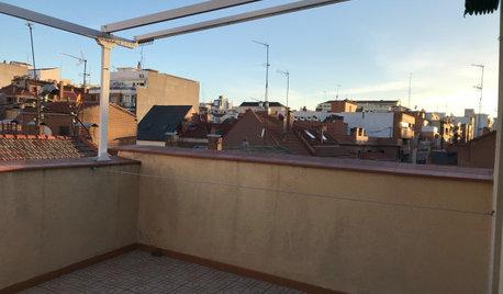 30.000 € transforman un piso pequeño con terraza en Madrid