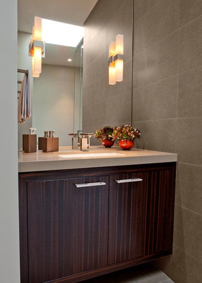 bathroom lighting design. contemporary bathroom by jennifer gustafson interior design lighting