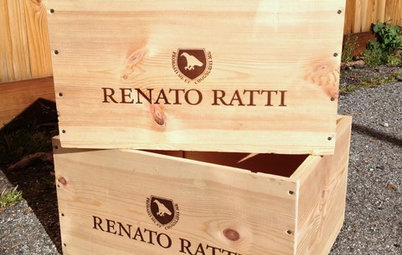 Weekend Project: Reinvent a Wine Crate