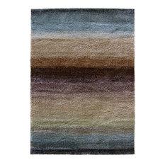 "Orian Wild Weave Layers Area Rug, Rainbow, 5'3""x7'6"""