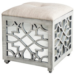 Transitional Footstools And Ottomans by Statements by J