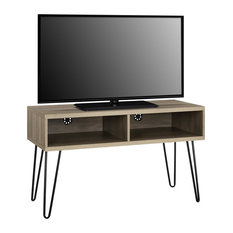 Maxwell Retro TV Stand For TVs Up To 42-inch Rustic Oak