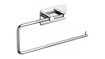 Stick on Towel Rail for Bathrooms with Polished Stainless Steel Finish