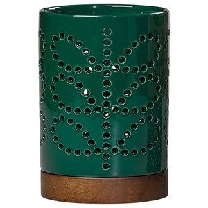 Orla Kiely Evergreen Ceramic Lantern