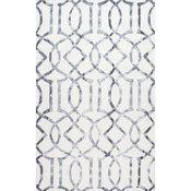 """Handmade Lattice Trellis Area Rug, 8'6""""x11'6"""""""