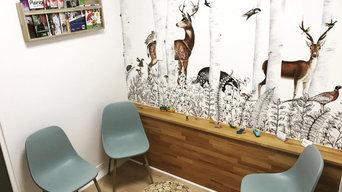 rénovation d'un cabinet d'ostéopathie