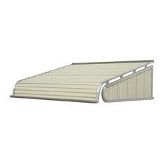 """1500 Series Aluminum Door Canopy 72""""x30"""" Projection, Almond"""
