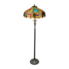 Leslie Victorian 2-Light Floor Lamp