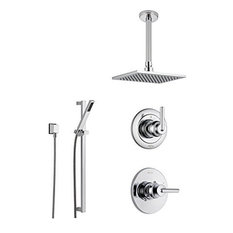 Delta Trinsic Collection Chrome Finish Custom Shower System SS145985