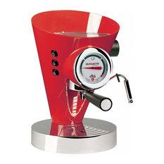 Bugatti Diva Espresso Machine, Red