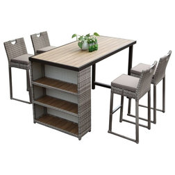 Tropical Outdoor Pub And Bistro Sets by Courtyard Casual
