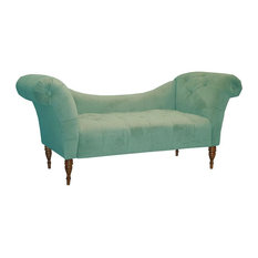 skyline furniture eaton chaise blue indoor chaise lounge chairs chaise lounge sofa
