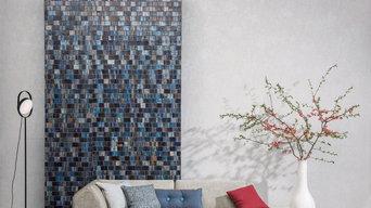 Tapeten-, Teppich- und Stoffmuster unserer Hersteller