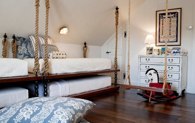 How to Get the Look of a Rope-Hung Bed