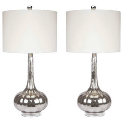 Contemporary Lamp Sets by Abbyson Living