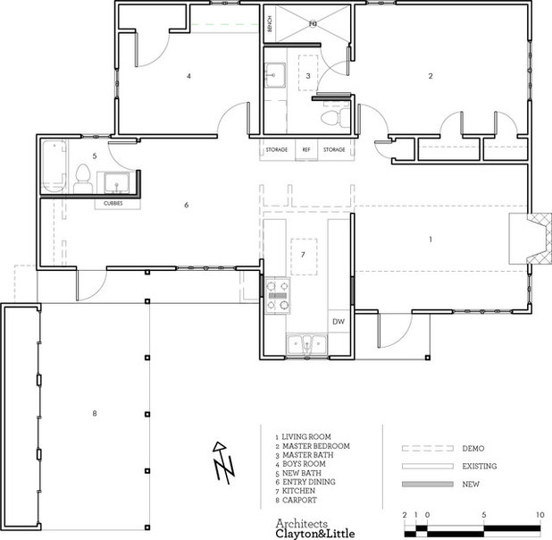 Cool Floor Plan by Clayton uLittle Architects
