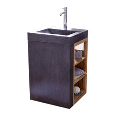 Meuble sous lavabo contemporain