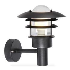Lønstrup Outdoor Wall Light, Black