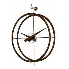 - wooden wall clock - Relojes de pared