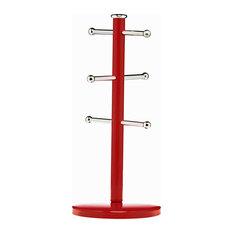 Premier Housewares Mug Tree, Red