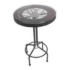 Racing Tyre Bar Table