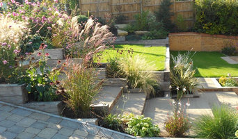 Sloping front gardens